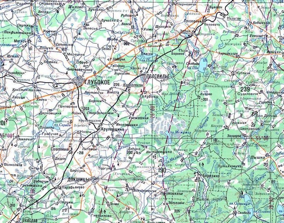 Подробное описание озера и местности